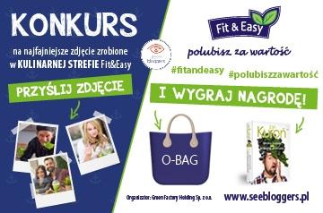 Fit&Easy partnerem Strefy Kulinarnej na festiwalu See Bloggers