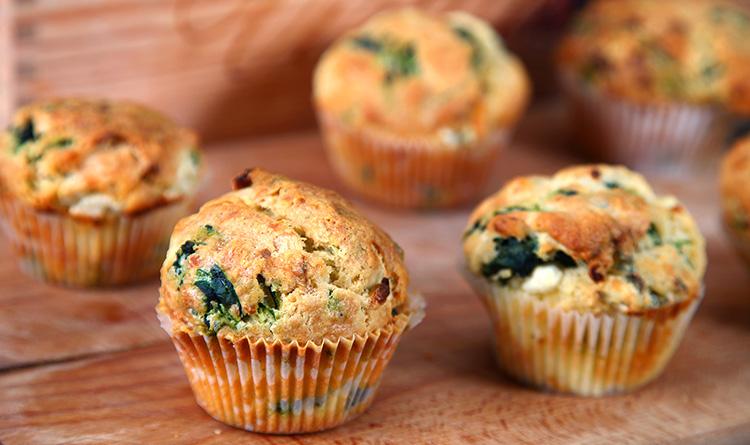 muffiny-szpinakowe