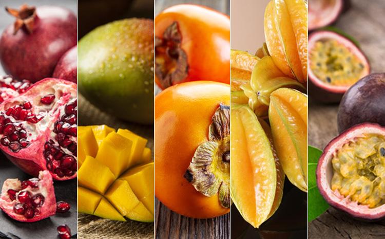 Znalezione obrazy dla zapytania owoce egzotyczne